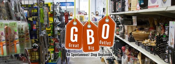 Our Store Great Big Outlet offers a real savings on home and garden essentials. In addition to great everyday values on everyday needs, we offer an ever-changing selection of seasonal items and steady flow of special buys on name-brand products.