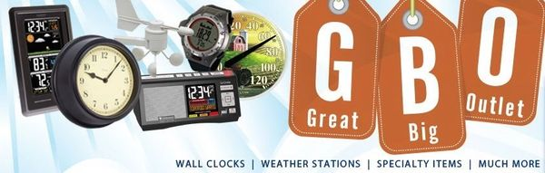 Be Spontaneous, Shop Unplanned Great Big Outlet is an authorized dealer of La Crosse Technology overstock, closeout & discontinued weather stations, alarm clocks & wall clocks. All products carry a 30 day money back guarantee & 1 year warranty through Great Big Outlet.