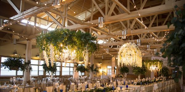 Wedding decor at Lakeside Ballroom in Glenwood Minnesota photographed by G'Mariecee Portrait Studios