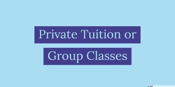 Private English language lessons and classes