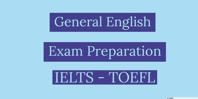 Online English teacher offering general English courses, exam preparation courses, IELTS TOEFL