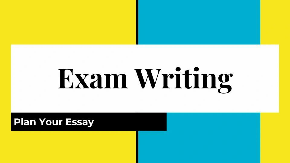 Exam Writing IELTS TOEFL