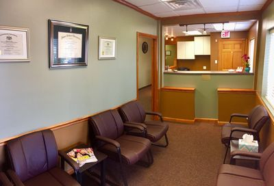 waiting room downtown greensburg chiropractor