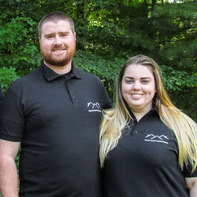 Michael Shea Jr., and Rachele Shea of MD Lead Inspection Services in Maryland