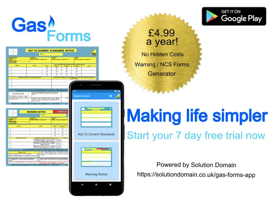 Gas Forms App