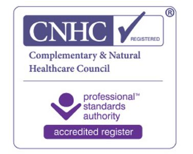 Logo for Complementary & Natural Healthcare Council Accredited Register