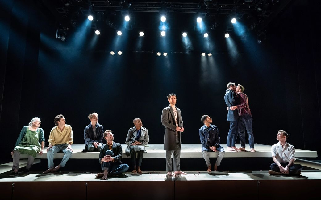 The company of THE INHERITANCE, photo by Marc Brenner