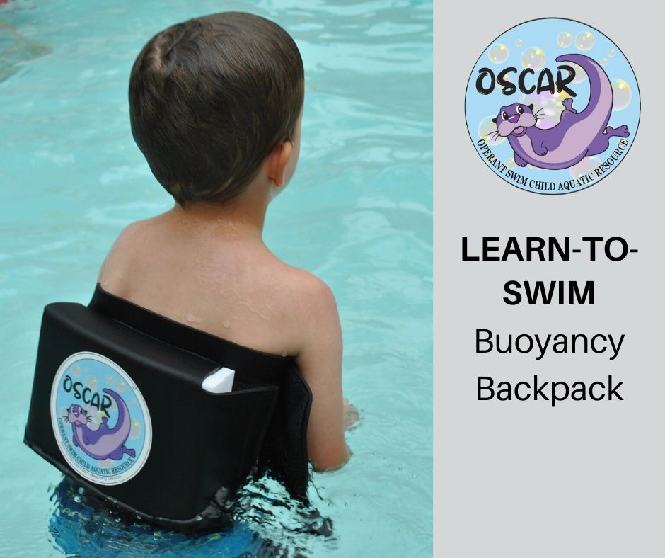 Learn To Swim Aid for Children OSCAR: Your Swim Buddy Buoyancy Backpack