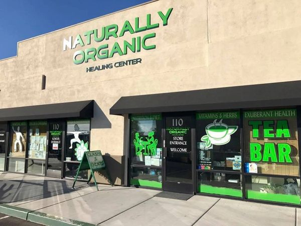 Naturally Organic Center Store Front