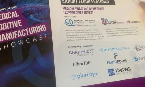 FibreTuff award winning biomaterial for 3D printing