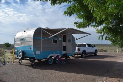 Travel Route 66 by RV. Many campgrounds along Route 66. Meet friendly Route 66 travelers.