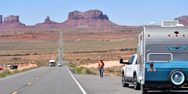 Side trips off Route 66 Arizona include Monument Valley, The Grand Canyon and the Petrified Forest.