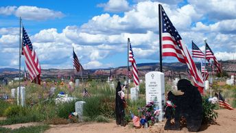 Navajo Nation Veterans Cemetery.