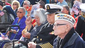 Pearl Harbor Day Ceremony in Phoenix, Arizona. Honoring all Veterans.