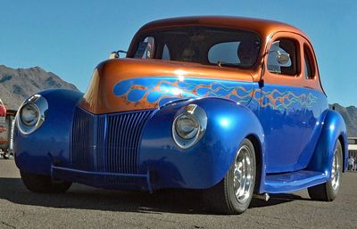 Hot Rods and Classic Cars travel Route 66 Arizona. Many Route 66 events with classic cars.