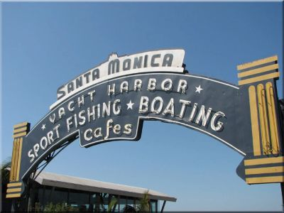 Santa Monica Pier is the end western terminus of Historic Route 66.