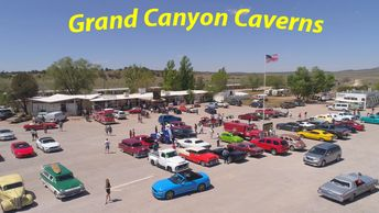 Grand Canyon Caverns in Peach Springs, Arizona on Route 66.
