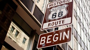 Route 66 Association Illinois claims the distinction of Promoting their claim Birthplace of Route 66