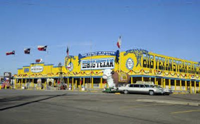 Big Texan Restaurant and Saloon on Route 66 in Amarillo Texas