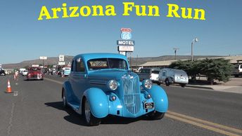 Arizona Fun Run from Seligman, Arizona to Topock, Arizona on Historic Route 66.
