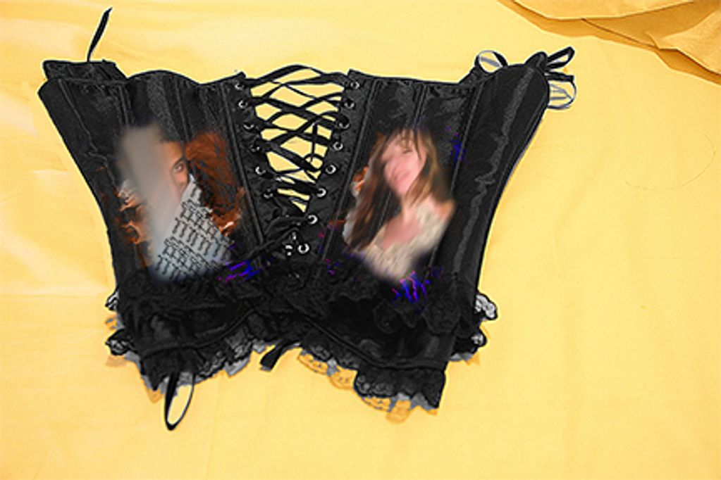 The Corset Project- tell of feminist struggles in the present =bound by the feminine roles.