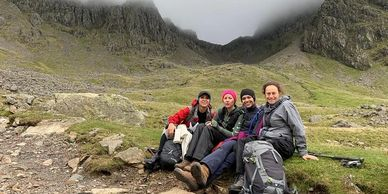 The 3 peaks challenge for business team build