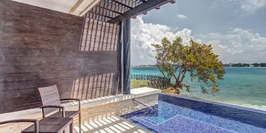 Hideaway at Royalton Negril is an all-inclusive, adults-only hotel within a resort where guests can