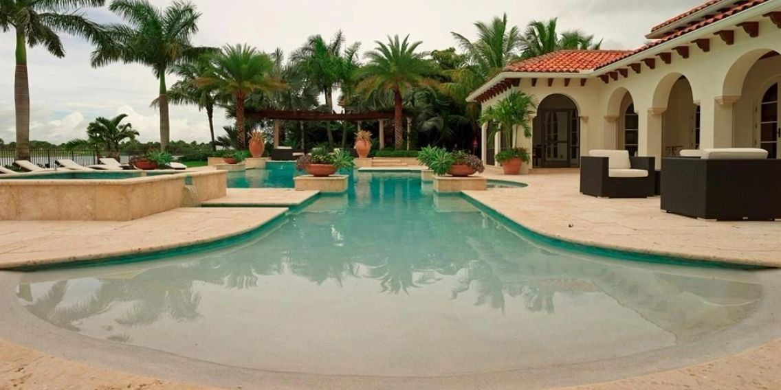 Beach Entry Pool Designs | Norris Pools