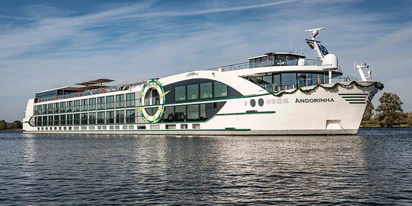 The ms Andorinha built exclusively for the Douro River