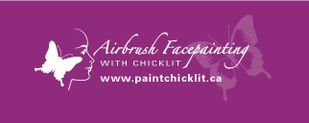 Airbrush Facepainting with Chicklit