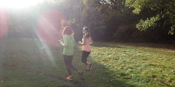 Run with Ben running coaching - blogs - Zero-5k package - Couch to 5K - two runners in Epping Forest