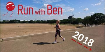 Run with Ben running coaching - run coach blog - a runner in Hackney Marshes, London