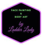 Face Painting by Ladder Lady