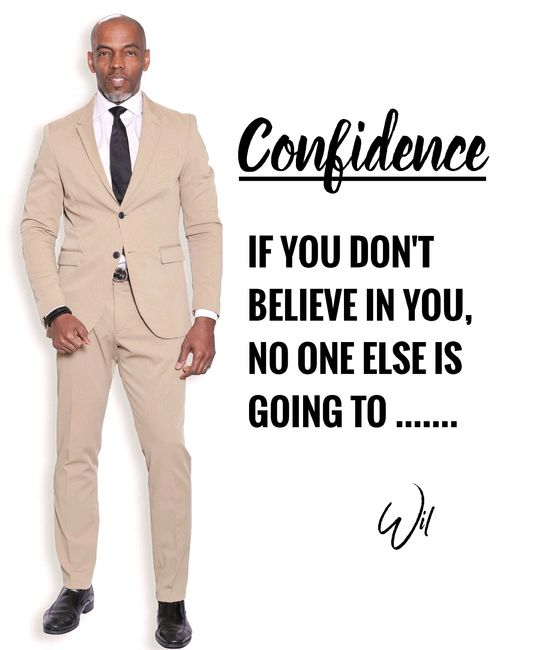 Wil Murphy can help you build your confidence.