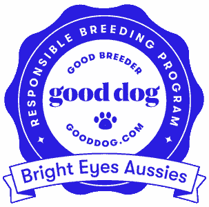 good dog responsible breeding logo