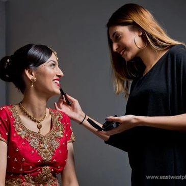 Bridal makeup bride London makeup artist dubai hair london asian bridal wedding makeup lessons