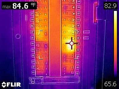 We use FLIR Thermal Imaging Equipment Exclusively in our home inspections