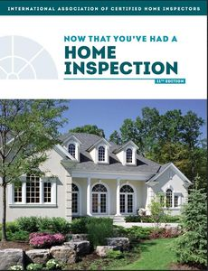 "Free Home Maintenance Book ""Now That You've Had A Home Inspection."""