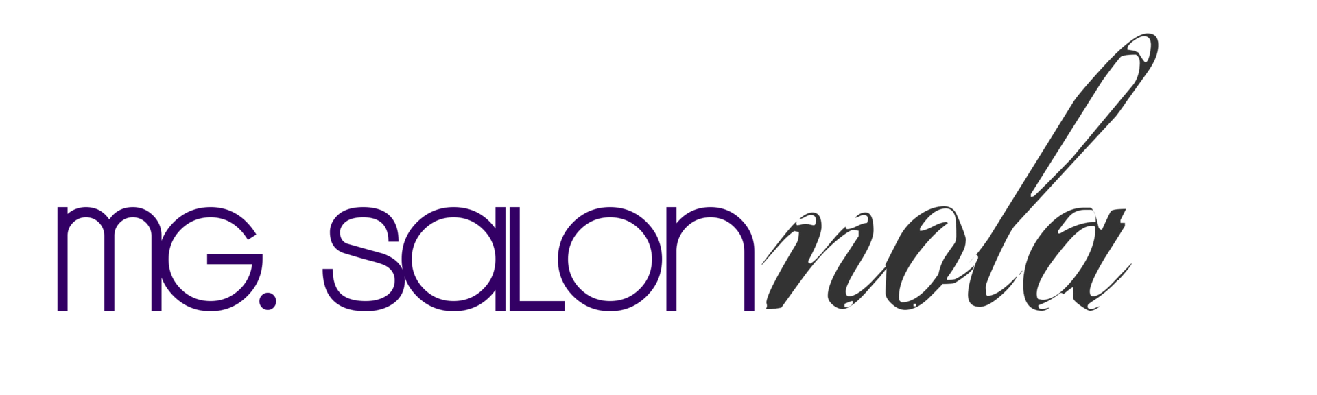 MG Salon NOLA, a full service hair salon.