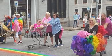 QC Pride Unity Pride Week Fast & Fabulous Cart Race