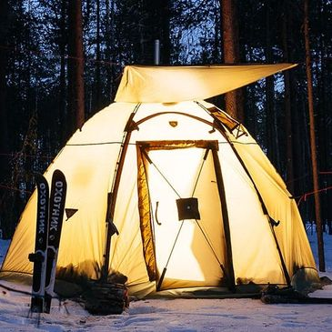 Bereg tents made in Russia double walled