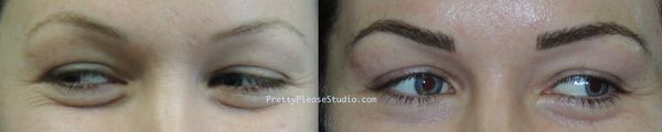 Microblading is ideal for young skin only.  Micropigmentation, cosmetic tattoo, dermal tattoo