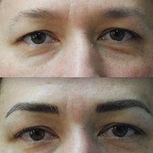 Permanent makeup for men.  Need definition around eyes.  Eyes are fading and looks tired.