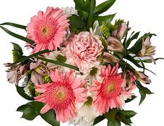 Mixed bouquet with gerbera daisys