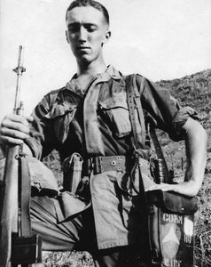 Author, preparing for patrol mountains outside of Danang Vietnam