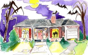 The house where no one ever knocks from Vampire's Ball Ultimate Halloween Party