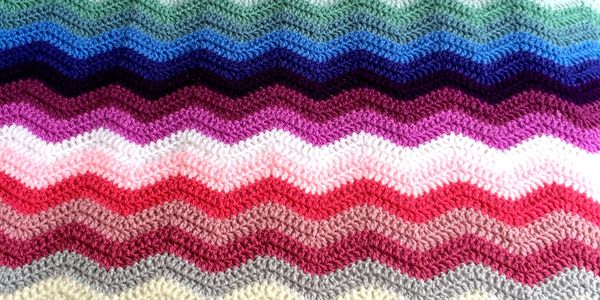 Crochet blanket in Stylecraft Special double knitting.