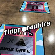 Floor Graphics Sidewalk Vinyl Outdoor Signs Signage Stickers Decal Fort Lauderdale Miami Printing