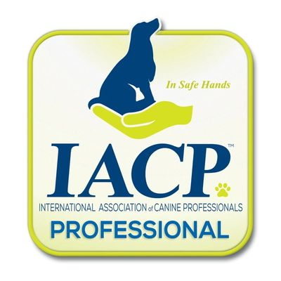 I am a member of the International Association of Canine Professionals (IACP)