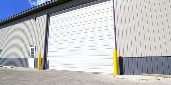 Midland Ribbed Commercial Steel Door